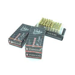 Fiocchi 30 Luger/7.65 Para, 93 grain FMJ ammunition, 200 Rounds