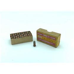 CIL 32 Short Rimfire Ammunition, 50 Rounds