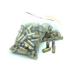 Reloaded 9 mm Lead Round Nose 150 Rounds