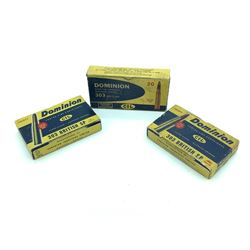 Dominion/ CIL 303 British ammunition, 52 Rounds