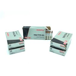 Federal Tactical .308 Winchester 165 Grain ammunition, 100 Rounds