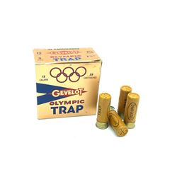 Gavelot Olympic Trap 12 Gauge, #7.5 ammunition, 4 Rounds