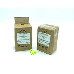 Ares 9mm (.356) 125 Grain Projectiles, Zombie Yellow, 1000 Pieces