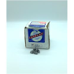 Lazer Cast 38 Cal (.358) 158 Grain Semi Wad Cutter Projectiles, approx 250 Pieces