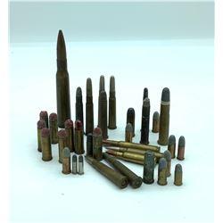 Miscellaneous antique cartridges