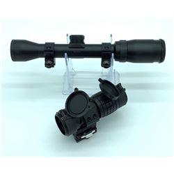 Bushnell Banner Scope & Red Dot Sight Magnifier