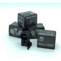4 X 30 mm QD Rings, High