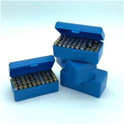 .38 Special ammunition, 189 Rounds and 4 Plastic cases