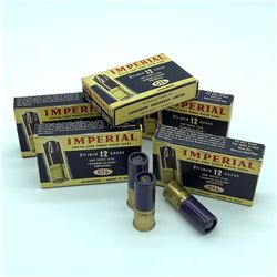 CIL Imperial Rifled Slugs 12 Gauge ammunition, 25 Rounds
