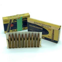 Dominion CIL 30-30 Winchester 180 Grain Soft Point ammunition, 35 Rounds