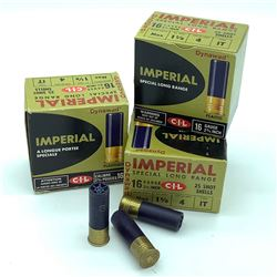 CIL Imperial 16 Gauge #4 ammunition, 70 Rounds