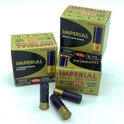 CIL Imperial 16 Gauge #4 ammunition, 70 Rounds