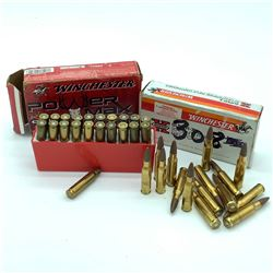 308 Winchester 150 Grain ammunition, 55 rounds