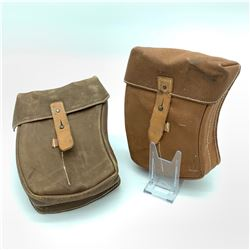 2 VZ 58 Leather Magazine Pouches