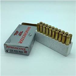 Winchester Ammunition - 338 WIN Mag. 200gr powerpoint, 20rnds
