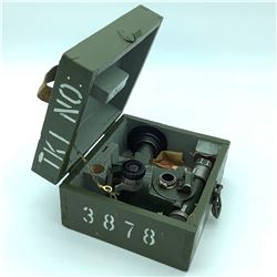WWII Russian 45mm Anti Tank Gun Sight with Case