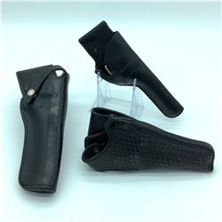 3 Left & Right Hand Revolver Holsters