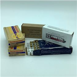 Assorted 9mm, 147 Grain ammunition, 203 Rounds