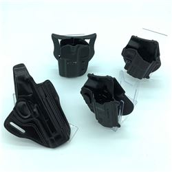 4 Assorted Holsters - Kydex, Fobus, Blade Tech & Gould & Goodrich