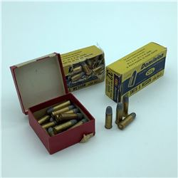 Dominion 32 S & W and 32 S & W Long ammunition, approx 70 Rounds