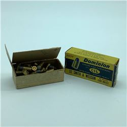 Dominion 32 S & W Lead Round Nose ammunition, 78 Rounds