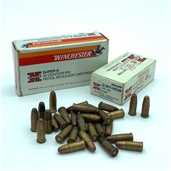 38 S& W 145 Grain ammunition, 55 Rounds, Loose 38 S& W, 50 Rounds