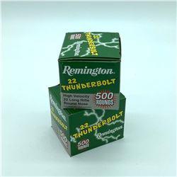 Remington Thunderbolt 22LR, 1000 Rounds