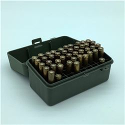 32 Rem. Ammunition, Reloaded , 42 Rounds in Plano Case