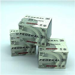 Federal Auto Match 22 LR, 40gr, 975 Rounds