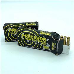 Precision Cartridge 303 Savage. 150 gr PP / FN ammunition, 36 Rounds