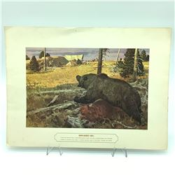 """'Rogue Grizzly' Print, 12"""" X 16"""""""