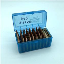 7.5 x 54 MAS - 40 Rounds & 10 Empty Casings in MTM box