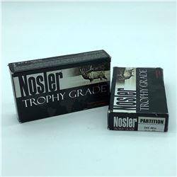 Nosler Trophy Grade Partition, 243 WIN, 85 Gr PT ammunition, 40 Rounds