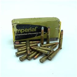 Assorted 30-30 Ammunition, 35 Rounds - IVI Imperial & Assorted