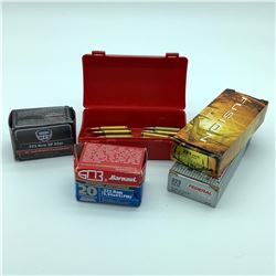 Assorted 223 Ammunition, 93 Rounds - Barnual, Federal, MFS & Assorted