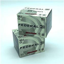 Federal Auto Match, 22LR, 40gr - 650 Rounds