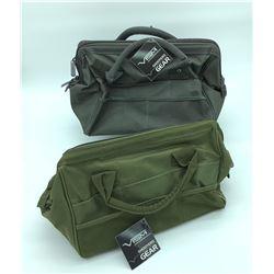 2 Vism Range Bags - Dark Grey and Green