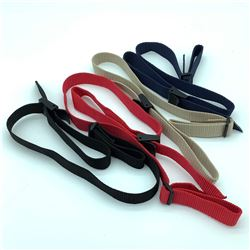 4 Assorted Color Nylon Slings