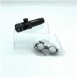 Weapons Mounted Flashlight with Mount