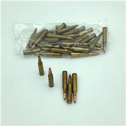 Assorted Loose 6mm Remington, Approx. 36 Rounds