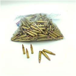 Loose Federal 223 Rem, 55 Grain, Full Metal Jacket ammunition, 350 Rounds