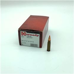 Hornady 7.62 X 39 SST 123 Grain ammunition, 50 Rounds