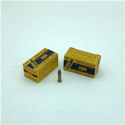 CIL Superclean 22 LR Lead Round Nose ammunition, 80 Rounds