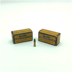 CIL Superclean 22 LR Lead Round Nose ammunition, approx 60 - 70 Rounds in 2 boxes