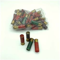 Assorted 12 Gauge ammunition, 44 rounds