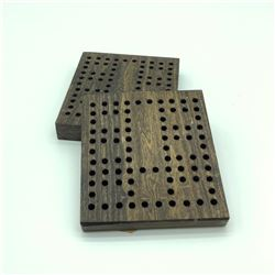 Shell Holders for 22 Caliber X 2, Wood