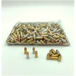 Loose, Assorted 9mm Full Metal Jacket ammunition, Approx 440 Rounds