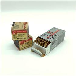 Assorted 22 Hornet ammunition, 100 Rounds