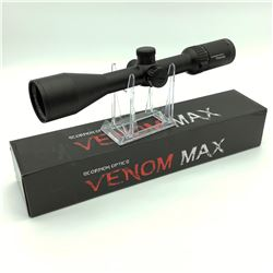 Scorpion Optics Venom Max,  2 - 12 x 50 Scope