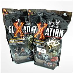 Rack Stacker Fixation, Apple Flavored Deer Attractant 5lb x 2